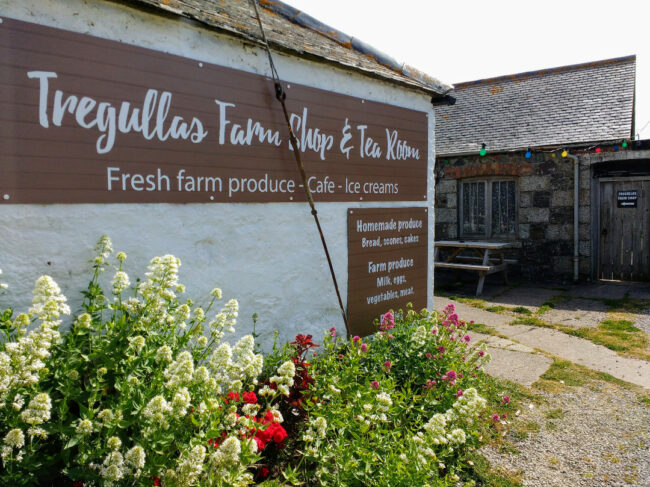 Tregullas Farm Shop and Cafe